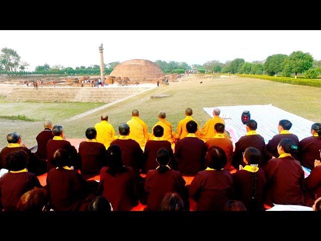 Số 5 Thuyết Pháp Tại Rừng Đại Lâm, Đảnh Lễ Tháp A Nan Hành Trình Theo Dấu Chân Phật