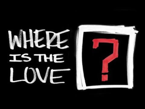 The Black Eyed Peas (Feat the World)- #WHERESTHELOVE (Lyrics+ Sub. Español)