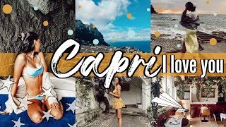 Weekend In Capri, Italy || Study Abroad Travel Vlog