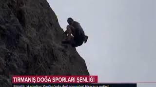 Türkeli Hacıağaç 1. Tırmanış Doğa Sporları Şenliği TRT Haber
