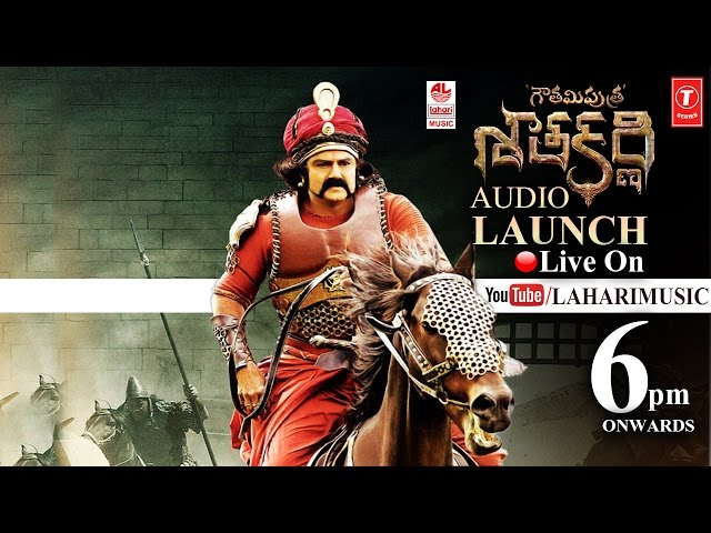 Balakrishna Gautamiputra Satakarni Audio Launch LIVE | Krish