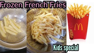 Frozen French Fries   kids Recipe    How To Use Frozen French Fries