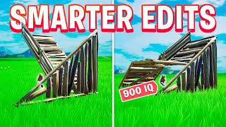 How to Make Smarter and Better Edits! (Fortnite)
