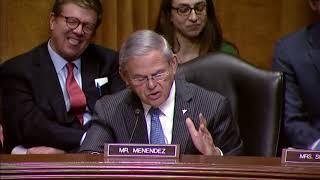 Menendez on Senate Abrogating Role in International Accords