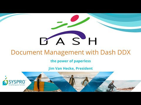 Document Management for SYSPRO ERP Video