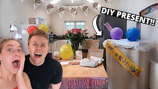 THROWING A 21ST BIRTHDAY IN LOCKDOWN... | James And Carys