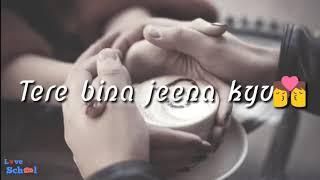 WhatsApp Status Lyrics Video __ Tere Bina Jeena Kya __