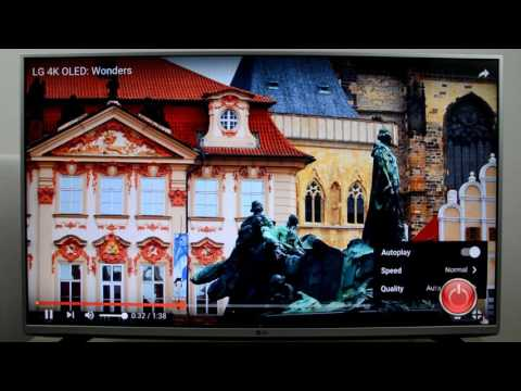 Review LG 43LH560V: Test WEB Browser, Youtube FullHD / 4K (43LH560)