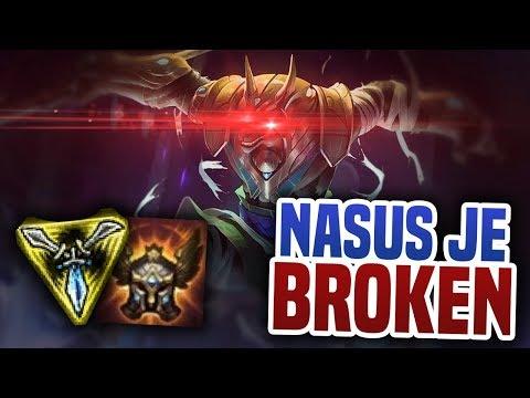 Nasus je broken! - League of Legends