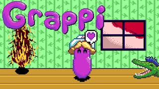 Grappi - MAYBE WILL GRAPPI FRIEND! (Full Game/Ending) Manly Let's Play