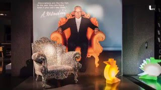 ALESSANDRO MENDINI Designer LIFESTYLE TV Video