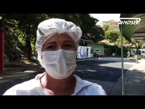 Ato pela vida e proteção dos trabalhadores da saúde