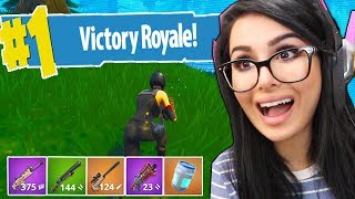 MY FIRST SOLO VICTORY ON FORTNITE BATTLE ROYALE