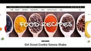 Food Recipe - Newspaper - WordPress, Business, blog, ecommerce and multipurpose theme -FastenWP
