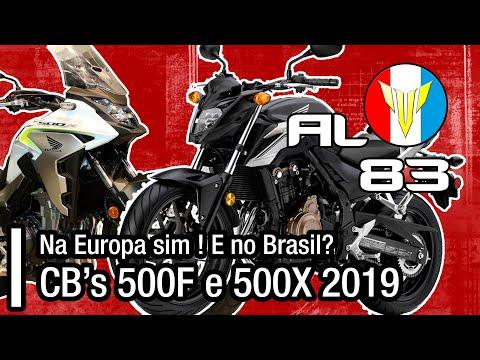 NOVAS CB500F e CB500X 2019/2020