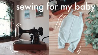 Making A Baby Romper Out Of A Pillowcase