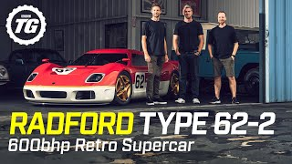 FIRST LOOK: Radford Type 62-2 – Jenson Button's 600bhp retro supercar | Top Gear