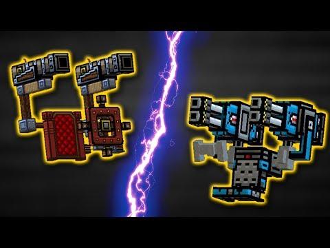 STORM OF ALL SEAS [vs] DEMOLITION EXOSKELETON : pixel Gun 3D