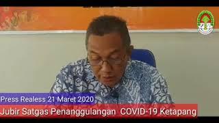 Press Release Covid -19 Kabupaten Ketapang (21 Maret 2020)