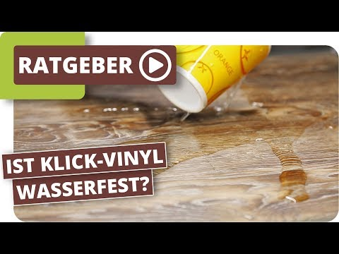 Ist Klick-Vinyl Wasserdicht und im Badezimmer einsetzbar?