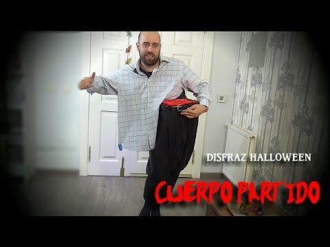 Disfraz de cuerpo dividido para Halloween - Disfraz última hora Halloween y Carnavales