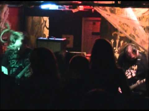 Eternity Defiled-Their last song at Berlin 10-26-2012.  Shot by Jeff Davis.
