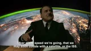 Hitler is informed he's orbiting Earth