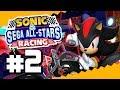 Shadow En Su Moto Sonic amp Sega All stars Racing Parte