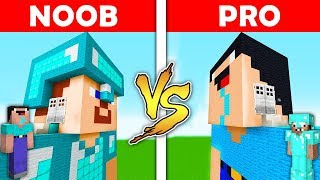 Minecraft Battle - NOOB vs PRO : NOOB HOUSE vs DIAMOND PRO HOUSE in Minecraft ! AVM SHORTS Animation