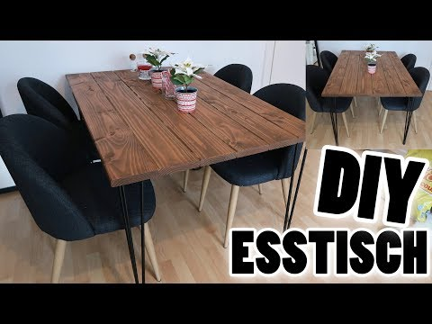 DIY industrial Esstisch I Meggyxoxo