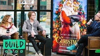 """Darby Camp & Judah Lewis Discuss Netflix's """"The Christmas Chronicles"""""""