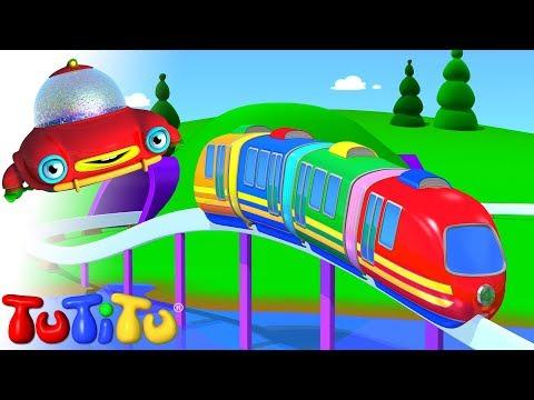 Tren electrico - Aprende a construir juguetes con TuTiTu
