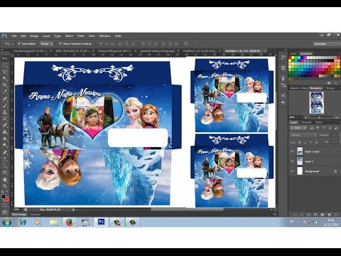 Video cara membuat amplop gambar frozen