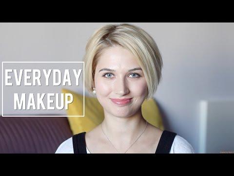 EVERYDAY MAKEUP : Мой ежедневный макияж в розовых тонах.