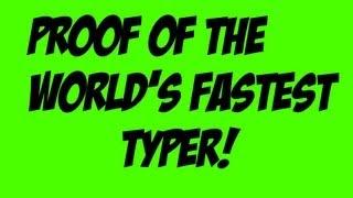 fastest typer in the world - मुफ्त ऑनलाइन वीडियो