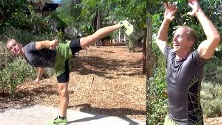 Martial Arts Fitness - 25 Min Home Workout by Kung Fu & Tai Chi Center w/ Jake Mace