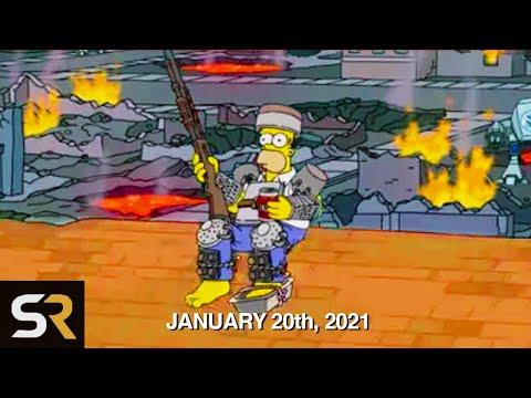 Simpsons-voorspellingen voor 2021