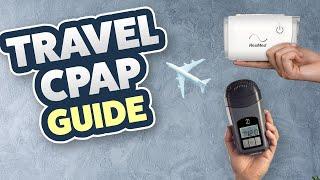 CPAP Travel Machine Comparison Guide - AirMini, Z1, Transcend