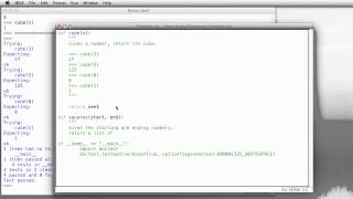 Python: Defining Functions
