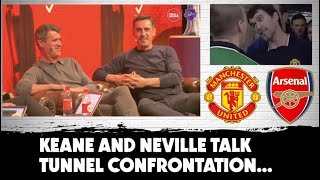 Keane and Neville | Tunnel incident with Arsenal 'bullies' revisited | #MUFC