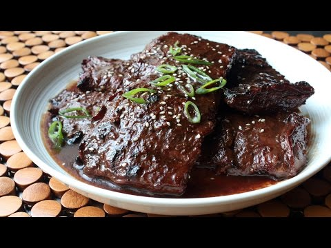 Grilled Hoisin Beef Recipe - Grilled Beef Skirt Steak with Hoisin Glaze