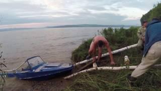 21 августа 2016 на квх утопили лодку