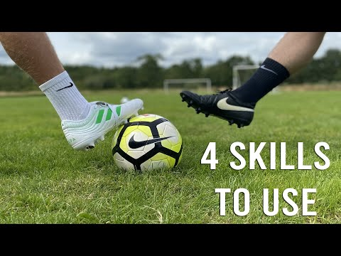4 SKILLS TO USE AS A STRIKER IN SOCCER