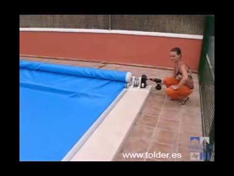 Cubiertas o cobertores de piscina automaticas