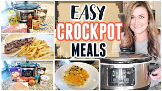 CROCK POT DINNER IDEAS | EASY AND DELCIOUS SLOW COOKER RECIPES | Cook Clean And Repeat