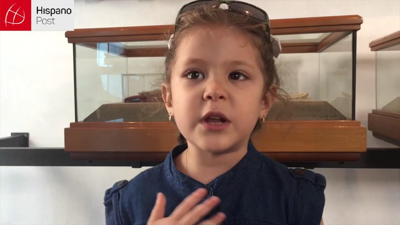 Alondra, la niña que viajó desde lejos para visitar a Martí
