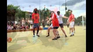 Blindfold Football at Copleston in aid RNIB