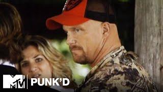 Ashton Kutcher vs. Stone Cold Steve Austin, Ashlee Simpson & D12 | Punk'd