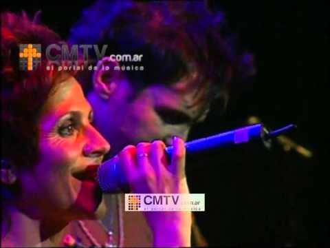 Marcela Morelo video Los amantes con Axel - Teatro Gran Rex 2006