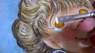 Série anjinho fazendo o olhinho – Fase 8
